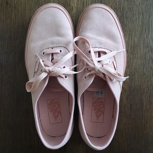 4ab8d6c08d8cab Vans Shoes - Basically New Vans Authentic Platforms Pink Suede